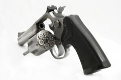 Wheel gun. 357 pistol Stock Photography