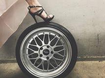 Wheel & Heel Stock Image