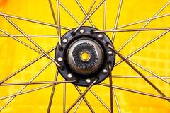 Wheel hub as a star Stock Photography