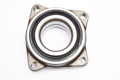 Wheel hub bearing isoated on. White background stock image
