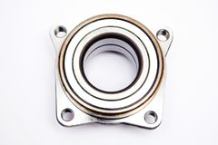 Wheel hub bearing isoated on. White background royalty free stock images
