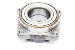 Wheel hub bearing isoated. On white background royalty free stock photos