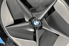 Wheel hub of bmw Royalty Free Stock Photos