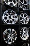 Wheel hubs Stock Photo