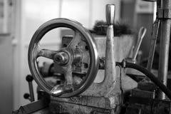 Wheel of lathe Royalty Free Stock Image