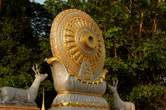 Wheel of life : Dhamma for Release. Stock Photography