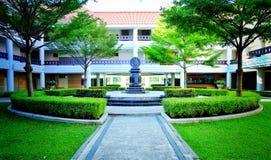 Wheel of life Thamasat University Royalty Free Stock Image