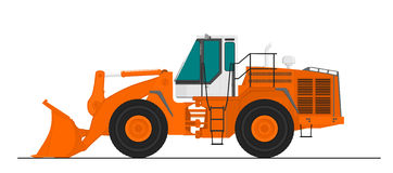 Wheel Loader Royalty Free Stock Photos