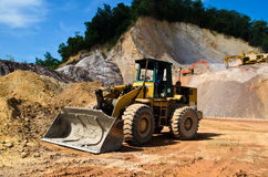 The wheel loader Royalty Free Stock Photography