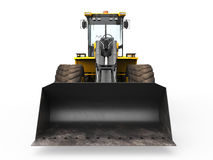 Wheel Loader Bulldozer Royalty Free Stock Photo