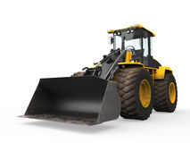 Wheel Loader Bulldozer Royalty Free Stock Image