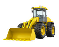 Wheel Loader Bulldozer  Stock Images