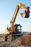 Wheel loader excavator Royalty Free Stock Photography