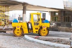 Wheel loader excavator working Royalty Free Stock Photo