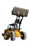 Wheel loader (focus on Bucket) Stock Images