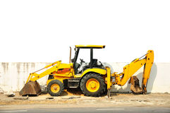 Wheel loader machine Stock Photo