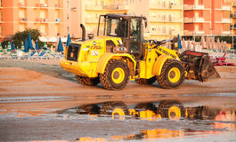 Wheel loader Stock Photography