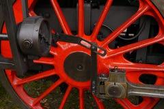 Wheel of locomotives. Wheel of historic steam locomotives Stock Image