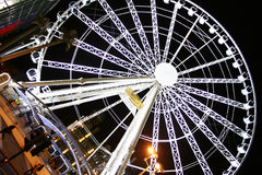 Wheel of Manchester. Best view of the city Royalty Free Stock Photo