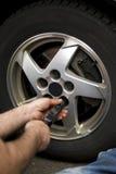 Wheel Mechanic Royalty Free Stock Photos