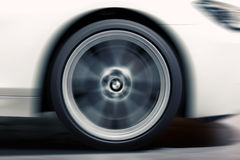 Wheel in Motion Royalty Free Stock Photos