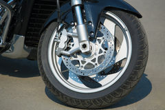 Wheel motorcycle Royalty Free Stock Images