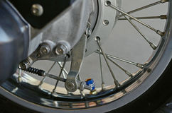 Wheel motorcycle Royalty Free Stock Photos