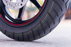 Wheel motorcycle. Royalty Free Stock Image