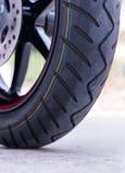 Wheel motorcycle. Stock Photography