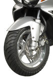 Wheel, motorcycle, technics Royalty Free Stock Images