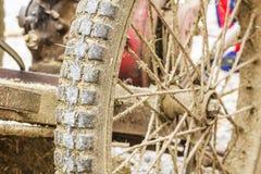 Wheel of Mowers Stock Photos