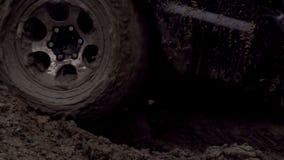 Wheel in the Mud