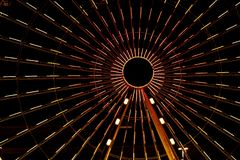 Wheel by the night Royalty Free Stock Photo