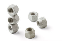 Wheel nuts Royalty Free Stock Image