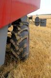 Wheel Of Tracktor Stock Photo