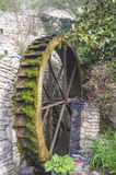 The wheel of old water mill. Stock Photos
