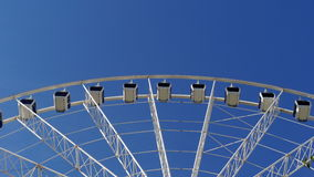 Wheel over the blue sky. Wheel in Brisbane, Australia, over the blue sky Royalty Free Stock Images