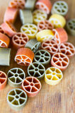 Wheel pasta Stock Photos