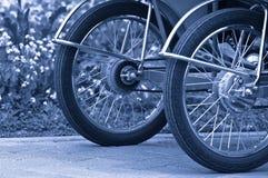 Wheel of pedicab Royalty Free Stock Images