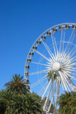 The Wheel of Perth. The controversial Wheel of Perth, which has rotated on the city foreshore since January 2009, will shut down. Perth Lord Mayor Lisa Scaffidi Royalty Free Stock Photo