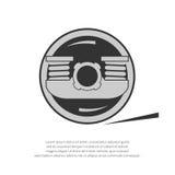 Wheel of a rail car Royalty Free Stock Image