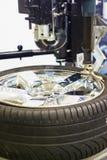 Tire repair Stock Images