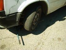 Wheel replacement Stock Photos