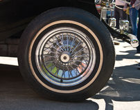 Wheel of Retro Car Royalty Free Stock Photo