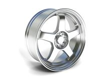 Wheel rim Royalty Free Stock Photos