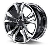 Wheel Rim. Isolated on white Stock Images