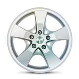 Wheel rim, vector Royalty Free Stock Photos