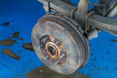 Wheel service Stock Images