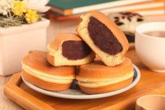 Wheel-shaped cake Royalty Free Stock Photo
