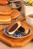 Wheel-shaped pie Stock Photo